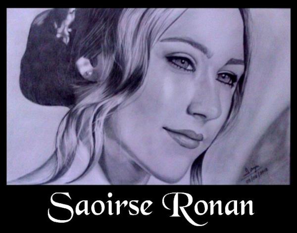 Saoirse Ronan by sanjulkm